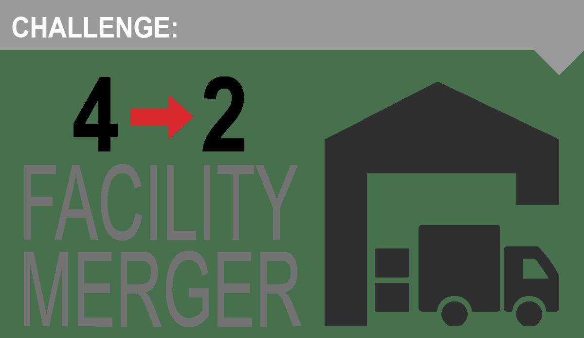 warehouse merger