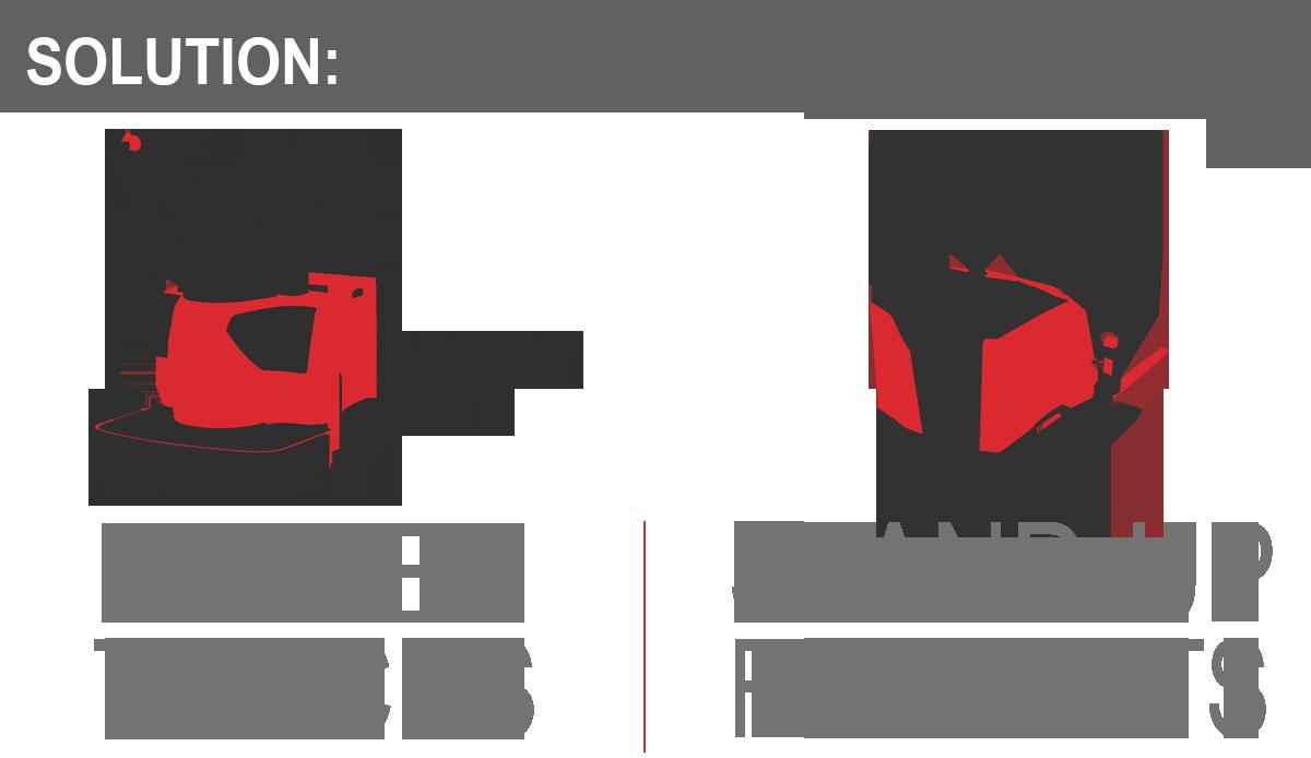 forklifts, lift trucks