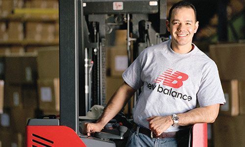 new balance, raymond success story