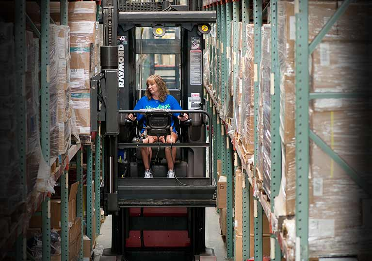Rawlings Sporting Goods - Heubel Material Handling and Raymond Customer Success Story