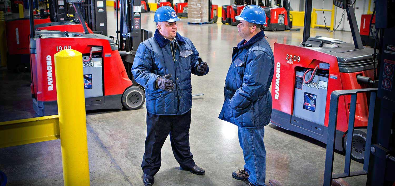 United States Cold Storage | Raymond Customer Success Story
