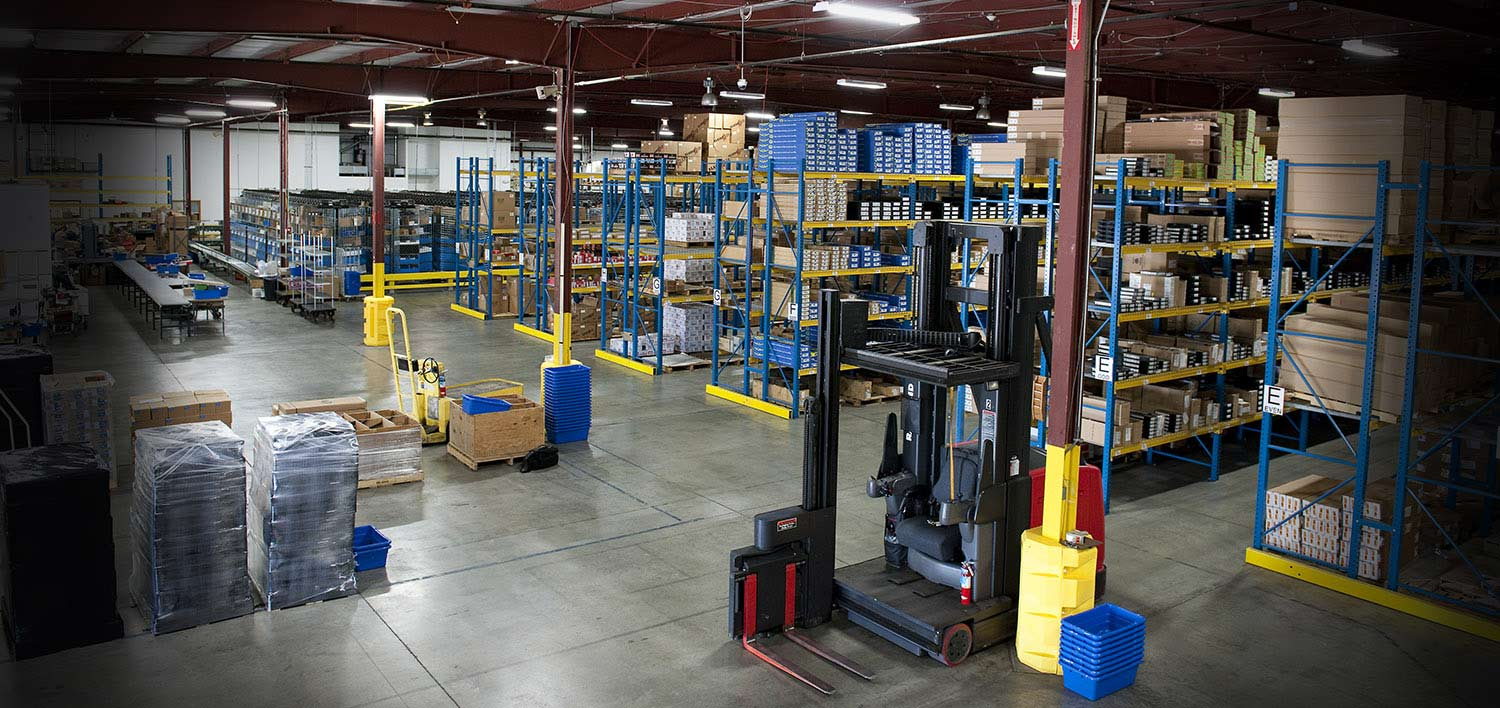 Zanders Sporting Goods Utilizes Raymond Material Handling Solutions