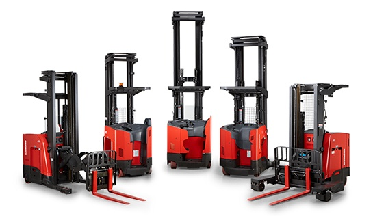 Reach Trucks, Narrow Aisle Forklifts
