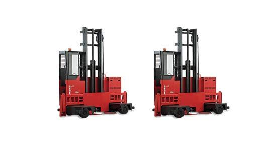 Raymond Sideloader Forklift Trucks