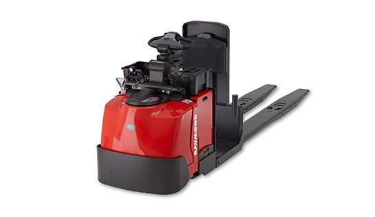 Raymond Center Riding Pallet Jack