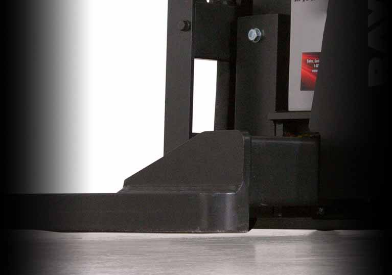 Raymond 6210 Walkie Straddle Stacker; Walkie Pallet Stacker with ductile iron frame
