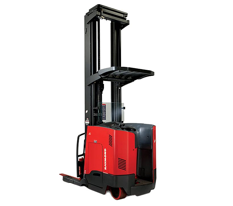 Raymond Stand Up Reach Forklift | High Lift Forklift