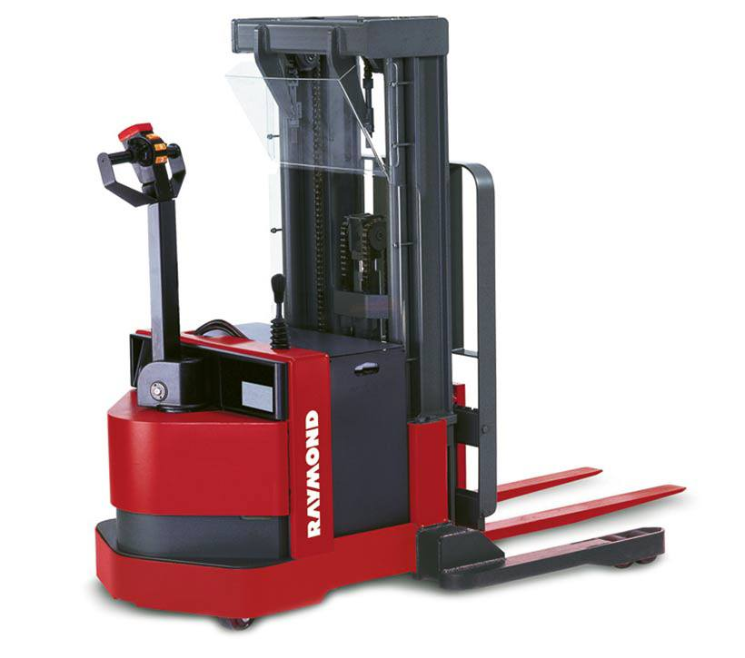 Raymond Walkie Straddle Stacker