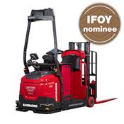 automated stacker, automated guided vehicle, award finalist