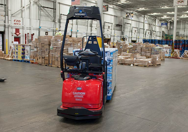 Raymond Courier Automated Lift Truck
