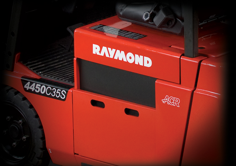 Raymond 4450 Sit Down Counterbalanced Truck with ACR System