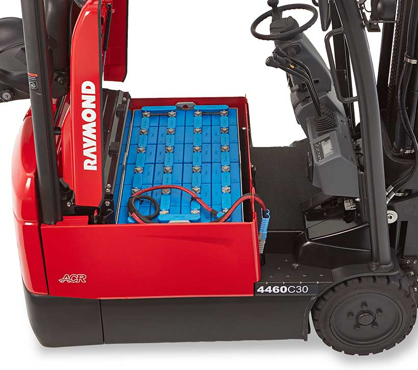Sit Down Forklift Raymond 4460 Electric Forklift