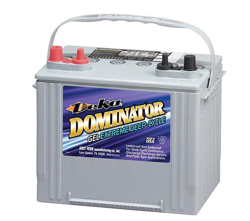 Raymond RG30 Ergonomic Skid Lifter Deep Cycle Marine Battery Powered