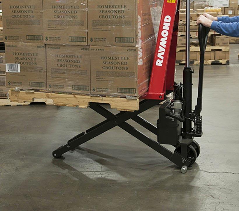 Raymond Manual Ergo Lift Hand Pallet Truck RG30