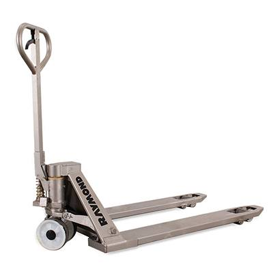 Raymond SS45 stainless steel hydraulic hand pallet jack