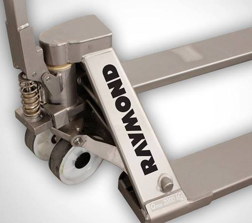 Raymond SS45 Stainless Steel Finish Hand Pallet Truck