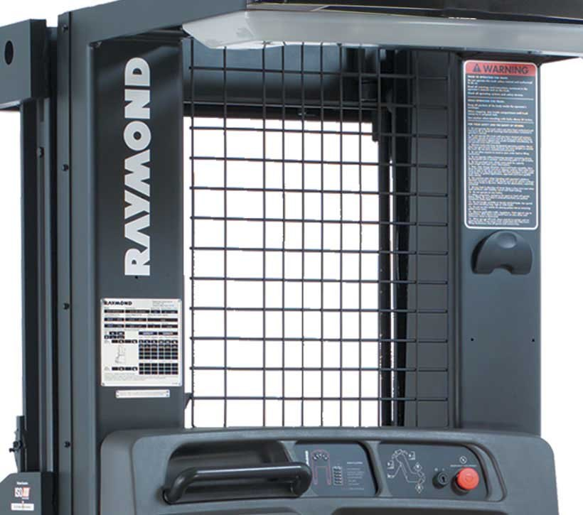 Raymond 5200 Orderpicker Clear View Mast