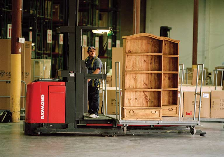 Ordinaire Raymond Furniture Order Picker Truck