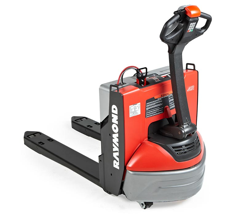 pallet jack, lithium-ion battery