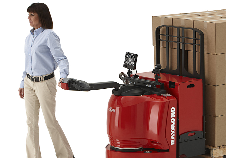 Raymond 8310 Walkie Pallet Truck with Operator