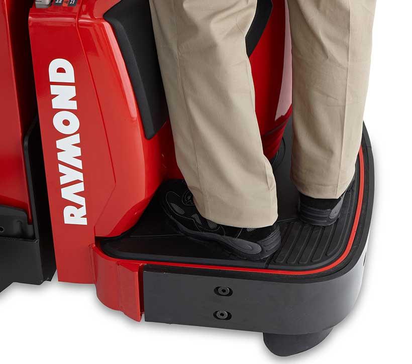 Raymond pallet truck platform