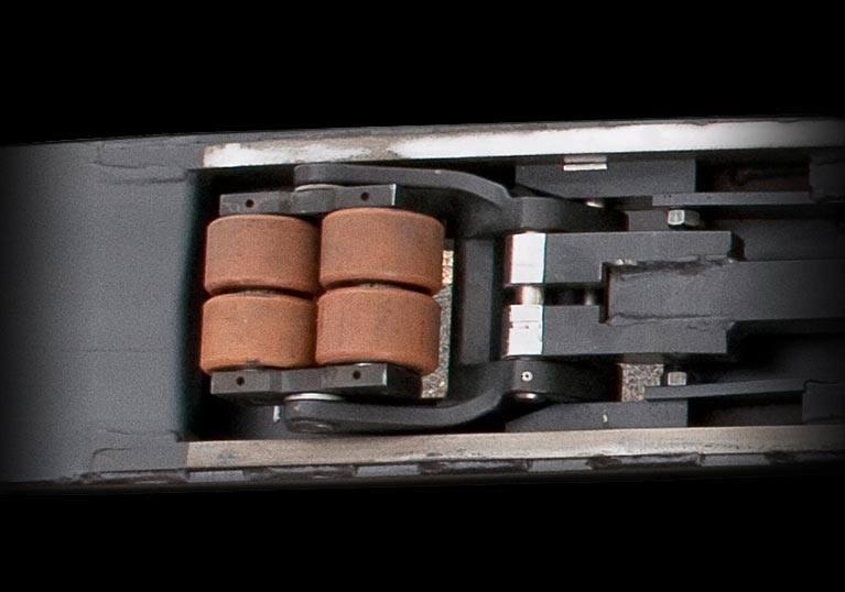 Raymond 8510 Center Riding Pallet Truck Undercarriage Durability