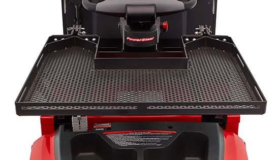 pallet jack compartment