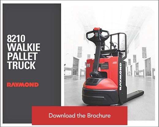 Raymond pallet truck brochure