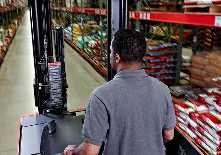 Raymond reach trucks visibility