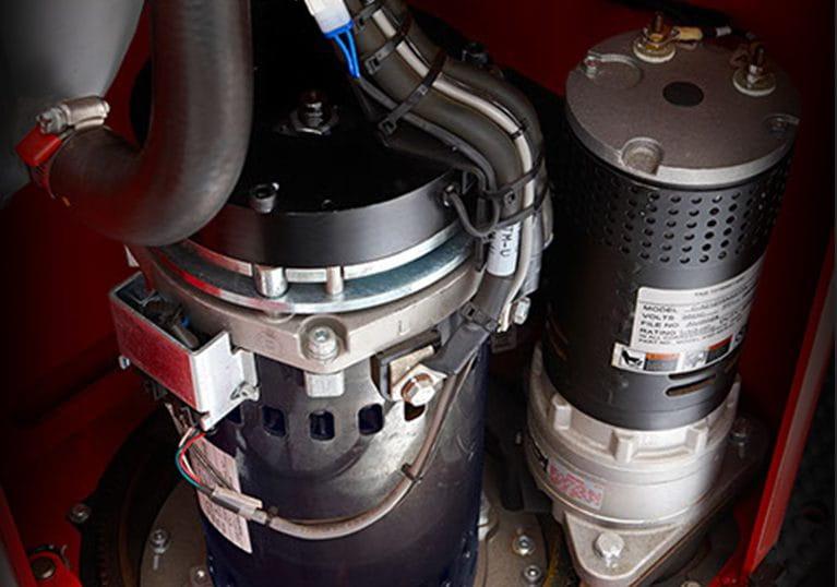 Raymond Reach-Fork Trucks ACR System Drive Motor