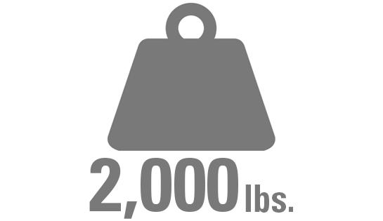 high capacity reach, capacity at height