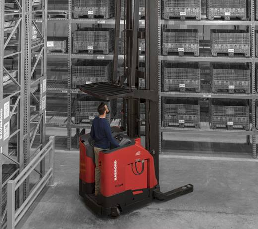 high capacity reach truck, increased uptime