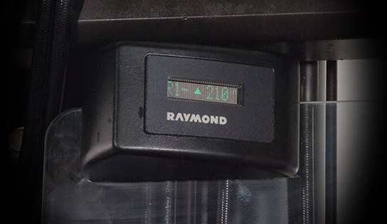 Height Tilt Indicator for Raymond Reach Forklifts