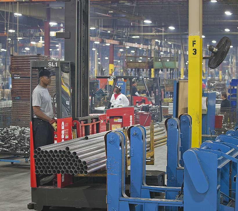 Raymond Sideloader 9400 | Long Load Forklift