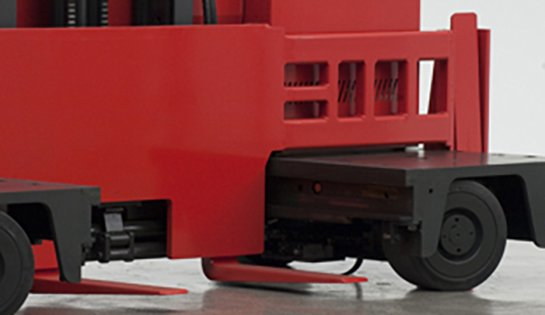 Raymond Sideloader Long Load Fork Lift Auxiliary Fork Carriage for Long, Flexible Load Handling