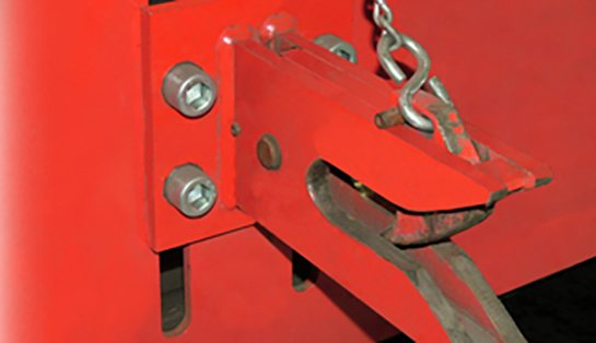 Raymond 8610 Tow Tractor Automatic Coupler Hitch