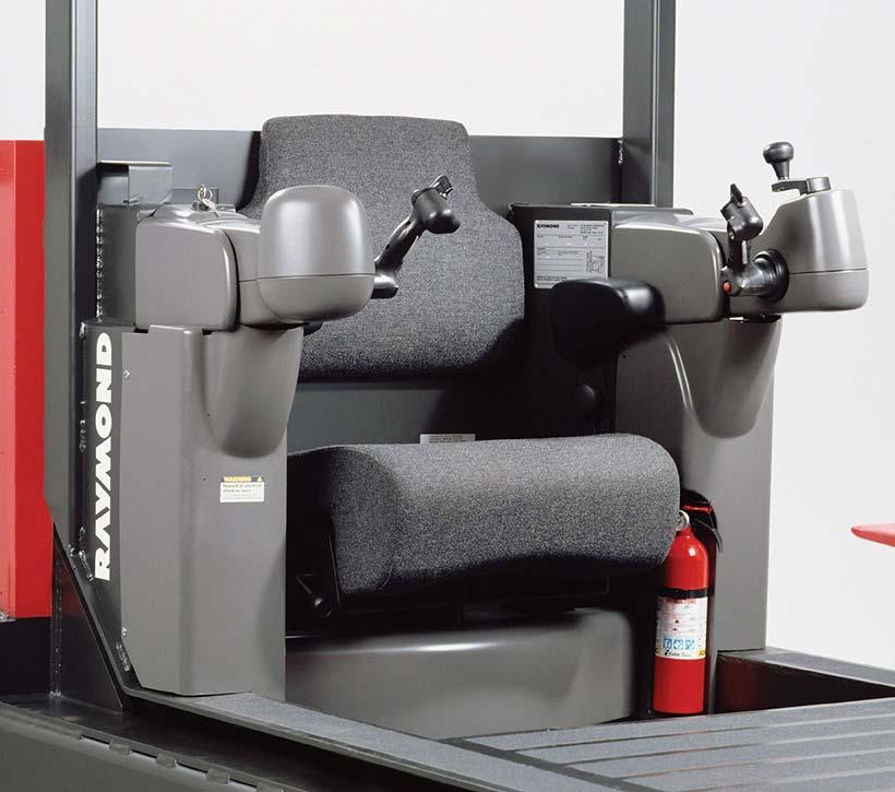 Raymond Transtacker TRT Swing-Reach Truck Operator's Compartment