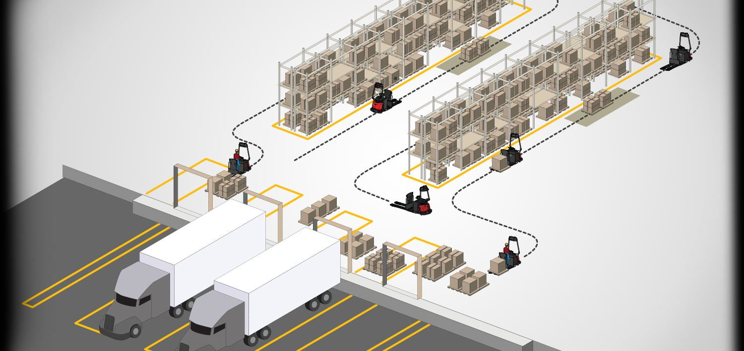Raymond Courier Automated Lift Trucks