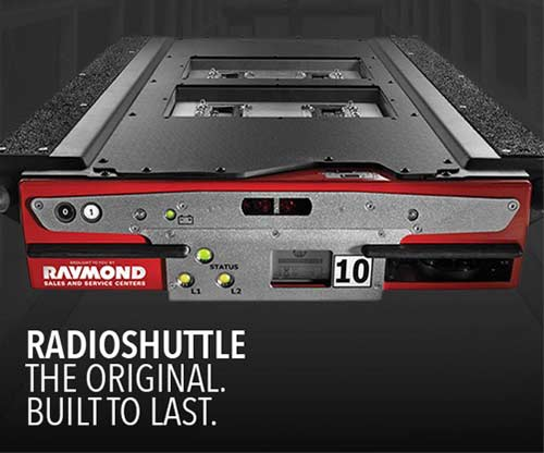 Radioshuttle racking system by Raymond Sales and Service Centers