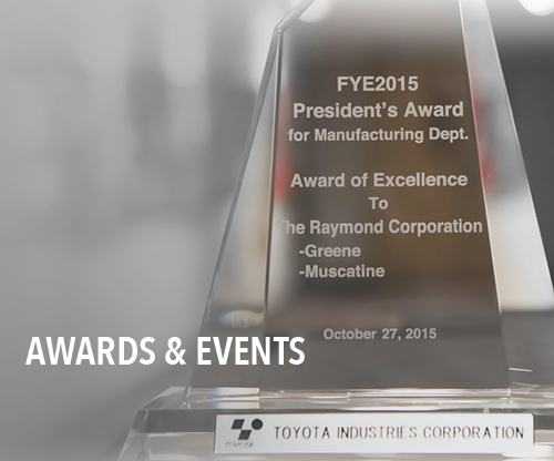 Raymond Corporation Awards
