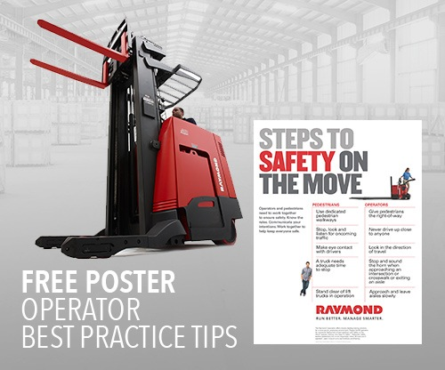 Forklift Operator Training Poster, Safety on the Move