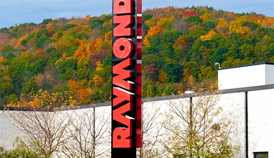 The Raymond Corporation headquarters Greene NY
