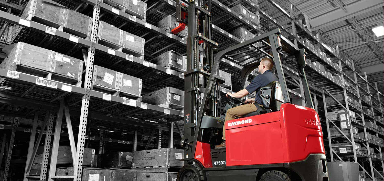 Forklift truck, counterbalance forklift