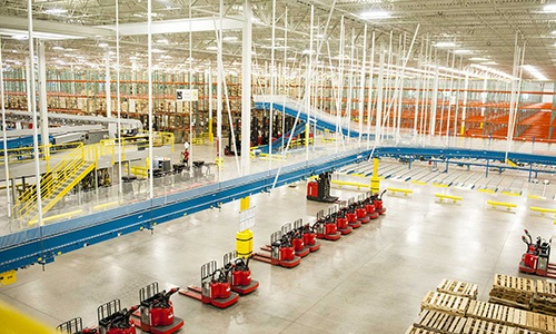 Raymond PVH warehouse