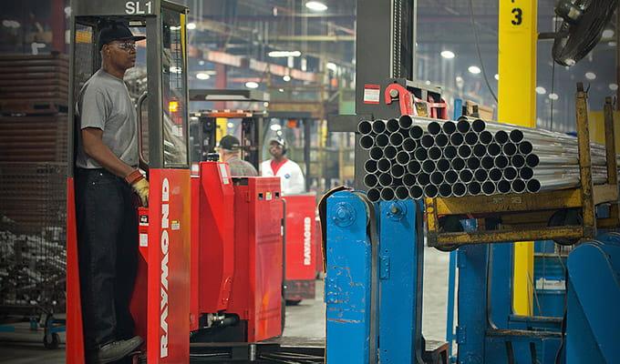 Raymond Corporation Customer Success Story: AP Exhaust
