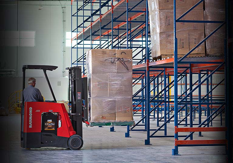 Raymond forklift, stand up forklift, Forklift, 9 to 5 seating
