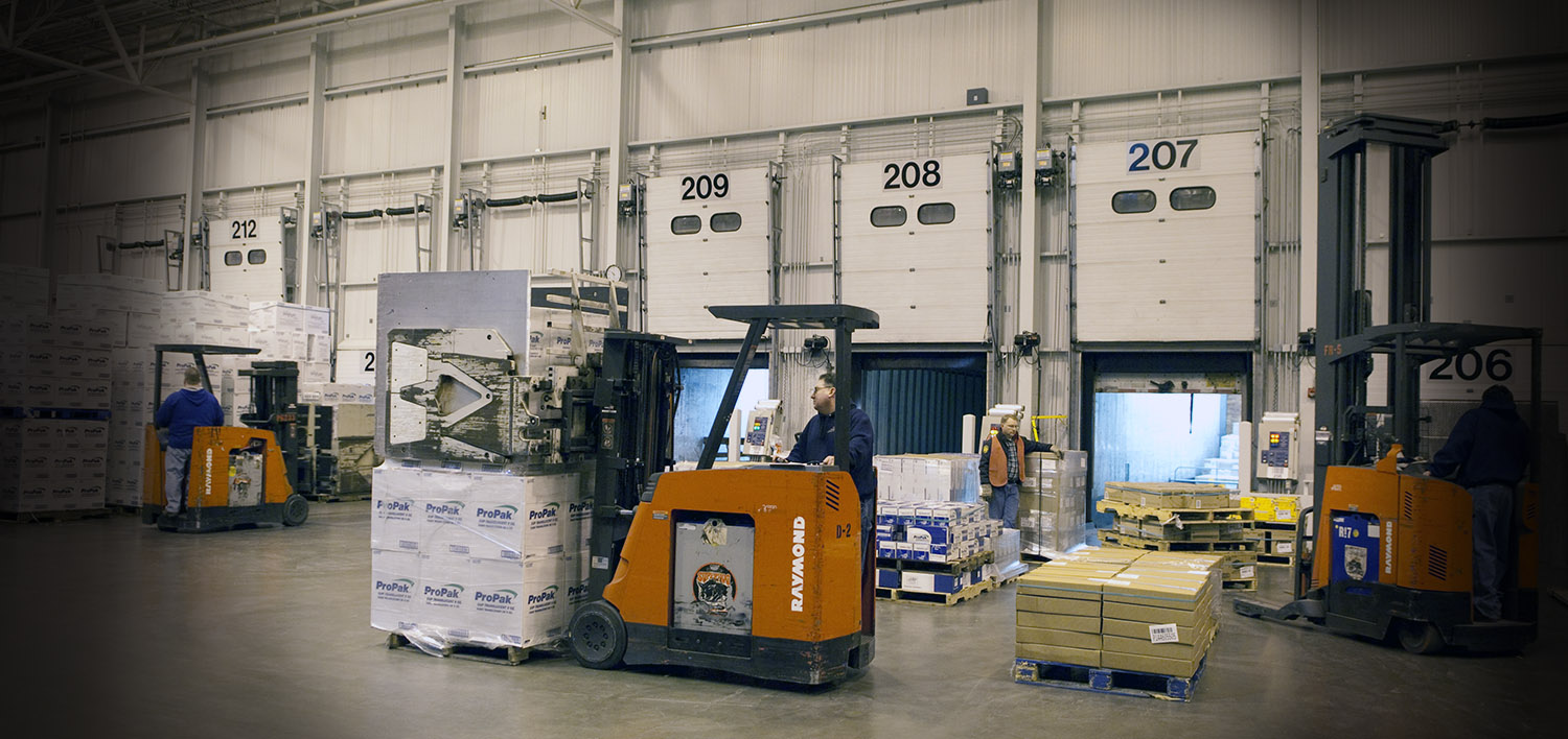 Maines Paper and Food Service Inc. Utilizes Raymond Material Handling Solutions