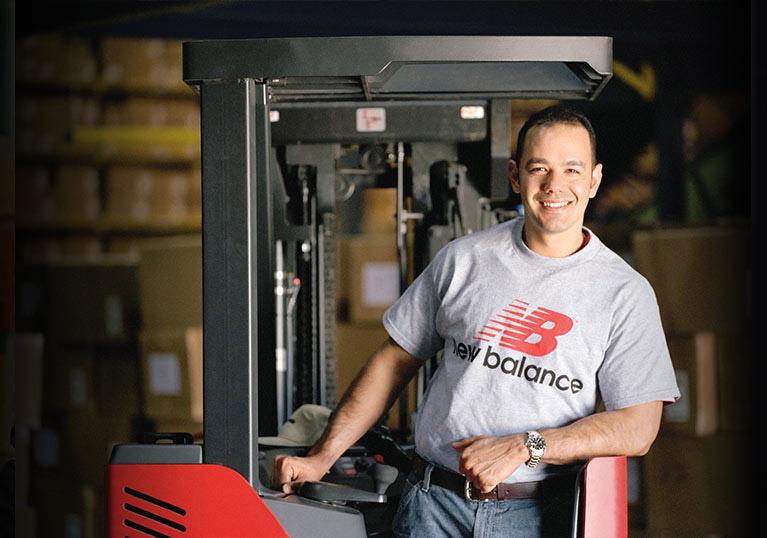 New Balance; Abel Womack and Raymond Customer Success Story