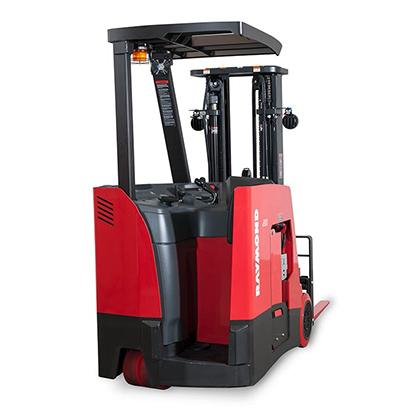 Stand Up Forklift, stand up fork truck, Raymond forklift