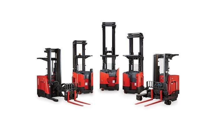Forklift, Reach Truck, Reach Trucks, narrow aisle forklift